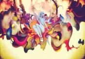 Concept Art for Trembled Blossoms film