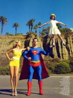 Supermom+Carolyn+Murphy+Lucy+Sykes+David+Gandy+Mario+Testino+Vogue+Jan+2009+7