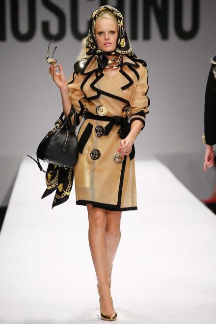 My favorite look on one of my favorite models, Hanne Gaby Odiele