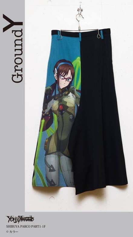 GroundY_Evangelion_anime_designer_yamamoto_collaboration_skirt