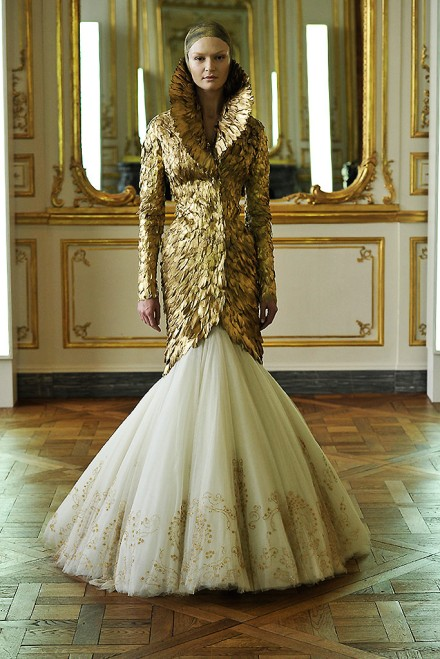 Fall 2010, the last collection McQueen himself worked on.